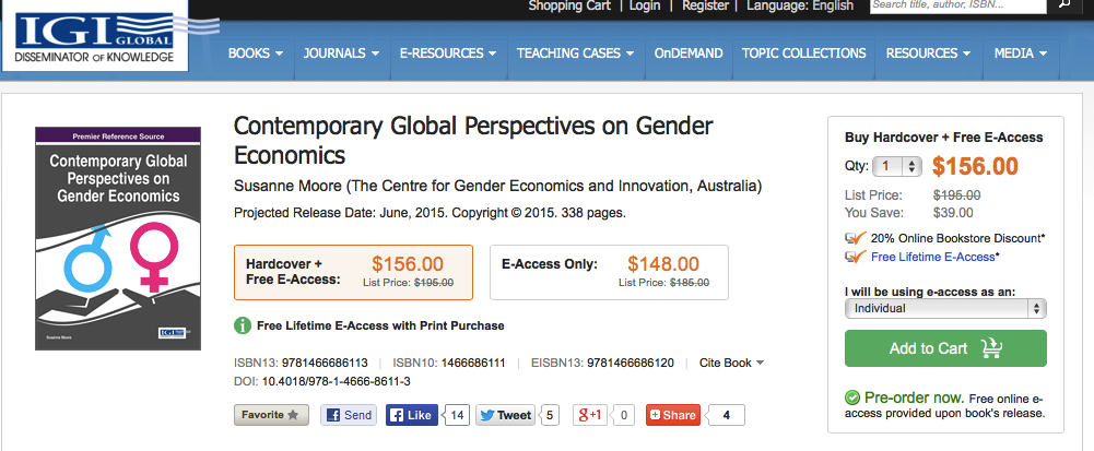 Resources | Gender Economics com